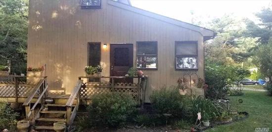 Cozy 3 Bedroom On Corner Property, Quiet Dead End Street, Large Deck In Rear Of Home. Riverhead School District.