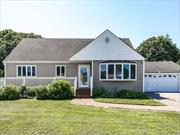 Exp Cape In East Islip School District With Large Rear Yard & Many Updates In House. Home Features IGS, Vinyl Fencing, 200 Amp Service, 2 C Garage, Full Bsmt. Home Is Easy To View. Great Curb Appeal!