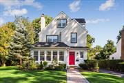 This recently renovated beautiful colonial situated midblock on a quiet tree lined street enjoys a park like setting on its impressive 80' x 147' lot. Features new gourmet kit open to DR, spacious LR w/fp & den. Second MBR w/wic, 2 addl brs, new bath & lndry. Third has 2 addl brs, full bath & bsmt rec rom, office & bath. Smart tech w/HVAC. Sprawling yard w/professionally landscaped grounds & paver patio is perfect for entertaining. Location, size & condition makes this a truly exceptional value!