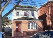 3-4 bedroom with 2 full bathrooms. Has front and back entrance. Close to all public transportation .