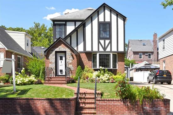 Just arrived- detached colonial style home on a great block in prime Flushing. This 3 bedroom & 1 1/4 bath home has been well maintained and loved by long time owner. Convenient to buses along Northern Blvd & 46th avenue. School District 25- I.S. 025, P.S. 107, Francis Lewis H.S. Won't last!