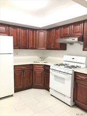 Beautiful spacious 2 bedroom apartment in Woodside. Updated Kitchen & Bath, Living/Dining Room, 2 bedrooms and 1 full bath. Close to 7, E, F, M.R trains and buses. Near all shops and transportation.