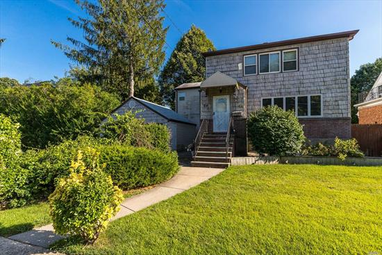 Amazing opportunity to buy a huge hi ranch style two family located on an oversized lot in the heart of Lynbrook. Lynbrook schools. Conveniently located on a quiet street near the Lynbrook downtown area and Lynbrook LIRR station (under 35 minutes to Penn Station) and close by to all schools, shopping and dining. Tax grievance has been filed. This one is not to be missed.