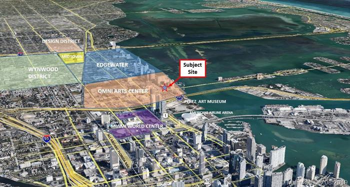 Global Investments Realty Is Pleased To Present An Exclusive Opportunity To Purchase A Development Site With 68, 400 +/- Sf That Allows For 785 Buildable Units (As-Of-Right). The Zoning Will Allow A 36 Story Project By Right With Unlimited Bonus Height Determined By Faa. The Property Has 380 Linear Feet Facing Biscayne Blvd. In The Hottest Market Known As Edgewater / Entertainment District. The Subject Site Is Within A Transit Oriented District (Tod), Which Allows For Additional Development Density Rights. Sale Includes 9 Folios.