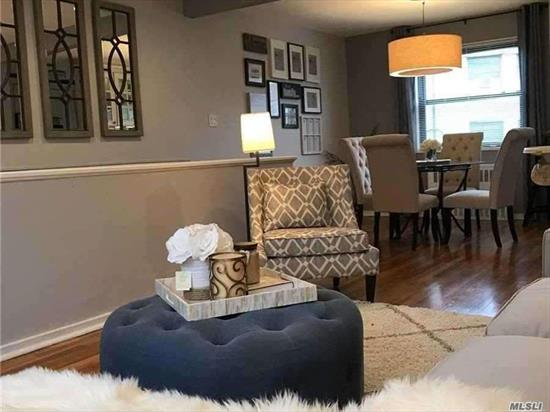 Immaculate, Bright & Renovated 3BR on quiet 2nd Fl in sought after and beautifully landscaped Hyde Park Gardens.Walk up into Formal Living with Formal Dining designed to pass through to the stainless kitchen finished with granite bar top seating for entertaining and conversation. Hardwood floors & recessed lighting. Convenient built-in Washer/Dryer. Standing Lighted Attic. In-wall AC. All utilities included. Pets Welcome!