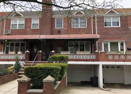 Charming House For Sale in the Heart of Woodside. This Home Features a Living Room, Dining Room, Kitchen, 3 Bedrooms and 1.5 Baths. Includes Private Driveway and Garage. Near Shopping, Highways and Public Transportation. A Must See!!