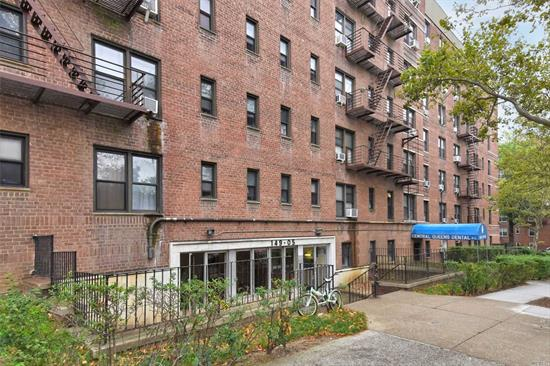 Rare To Find...Washer & Dryer Are In The Unit. Full 2 bed 1 Bath On The 6th Floor With Dining Area, Hardwood Floors Throughout, Plenty Of Closet Space , Windowed Bathroom, Wood Kitchen With Modern Appliances. Maintenance Is Only $865,  Conveniently Located Close To Shopping Area and Major Transportation. Please Schedule Your Appointments Today!