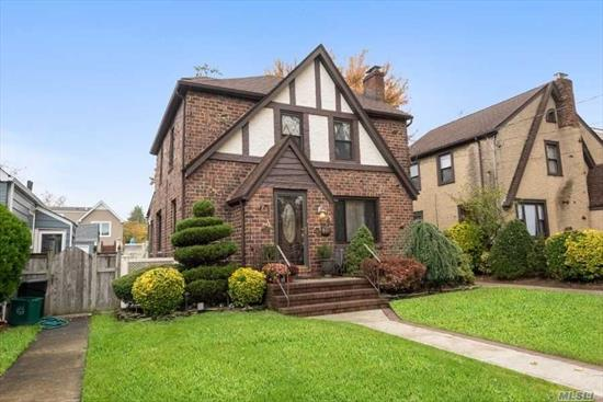 Lovely Brick Tudor, West End Area of Lynbrook, 3 Bedrooms, 1.5 Bath, LR w/ FP, Formal DR, Kit w/ Granite Cntrs opens to Great Room/Family rm. Newer Bath, Finished Basmt, all Wood Floors Replaced, Manicured Yard, Newer Fence, Roof 10yrs, Newer Gutters, New Boiler, 5 Yr Water Heater, Basement Electric Heat, Newer Copper Water Line 1 + Sewer Line.