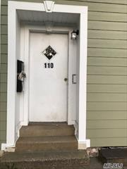 Spacious Two Bedroom Apartment In The Heart Of Oyster Bay. First Floor Private Entrance. Nice Large Kitchen With Door To Patio. near LIRR, Park, Waterfront. Walk to restaurants, small market, businesses Yard shared with the 2nd-floor tenant.