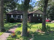 3 Bedroom Ranch, Features a Full Finished Basement and Outside Entrance. 2 full baths, Living room, Dining room