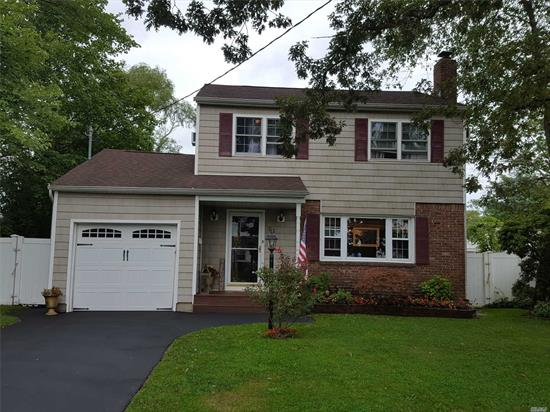 The fall buying season is here! Be in your new home before the holidays! Come see this beautiful 3 bedroom 1 1/2 bath colonial in Lawrence farms. Centrally located to trains, ferries, restaurants. Award winning Bayshore school district.