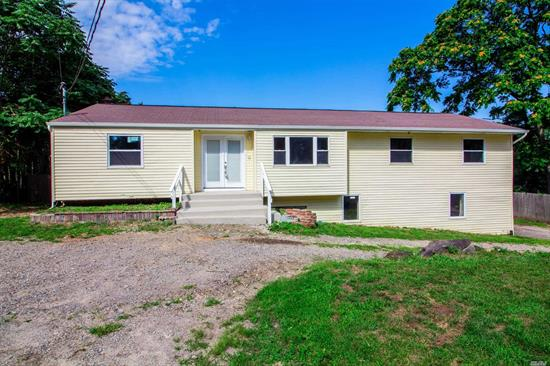 Newly renovated, new floors, new paint, hi-hats, skylights, lots of closets, Whirlpool S/S appliances, Possible lower apt with proper permits. Call to see today!