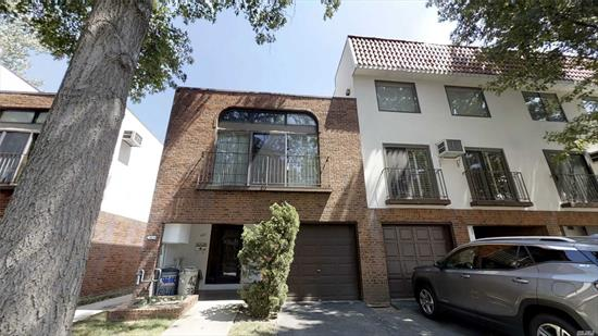 Experience the country club lifestyle in this beautifully updated condo apartment in College Point. You'll find it hard to believe you live in one of the busiest cities in the world when you come home to Silverpointe Estates. This private gated community comes complete with clubhouse (yes it has a kitchen), exercise room, sauna, pool and tennis court to list a few of its luxurious amenities. Totally renovated 2 bedroom, 1 bath ground floor unit has an extra-large backyard with large storage shed