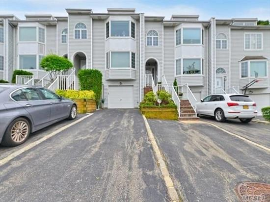 Welcome to this pristine Beechwood Model in Oak Park at Douglaston. This model features grand cathedral ceilings in the living and dining areas, an immaculate kitchen, a master suite with a full bathroom, walk in closet and terrace, a second bedroom, a second bathroom, ultra clean carpeted flooring, ample closet space, attic for storage and a separate laundry closet. Community amenities include swimming pools, hot tubs, tennis, playground, fitness rooms, ping pong, sport court and more.