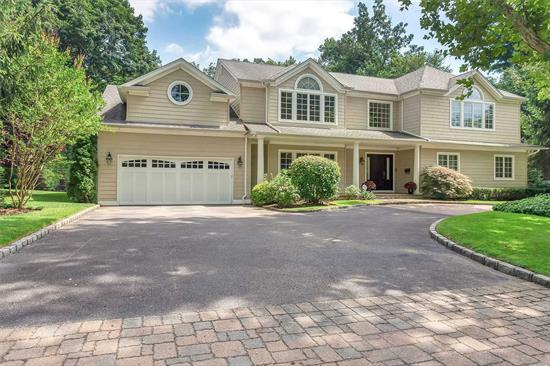 East Hills. 5 Bedroom 5.5 Bath Colonial on .5 Acre with a Circular Driveway, Great Room, Home Movie Theater, Cooks Kitchen, Membership to East Hills Park and Pool. Many Extras including a Generator.