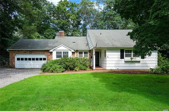 Fabulous 3 BR, 2 Bth Ranch In Pristine Condition With A Pool! Beautiful Wood Floors. Master BR w/Full Bath. CAC, High Efficiency Boiler. Sparkling In-Ground Pool. 2 Car Attached Garage. Private Back yard W/Deck. Beautiful Gardens w/IGS. Ground Care Included In Rent. Desirable Area Adjacent To Country Club.
