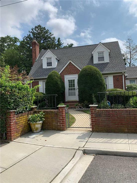 1st floor, 2 bedrooms, living room, dining room, updated kitchen with dishwasher, plenty of closets and storage, finished basement with washer/dryer. Heat included with own thermostat. Use of patio and shared yard. Will consider one dog