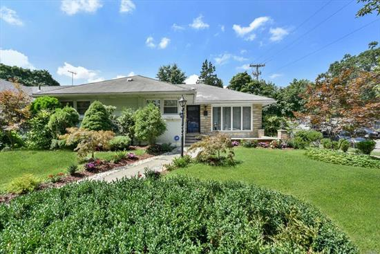 LARGE PROPERTY WITH PRIVATE DRIVEWAY & DETACHED GARAGE. NEAR BUS STOP, EXP. RANCH, GAS COOKING, HUGE FINISHED BASEMENT W/2 SEPARATE ENTRANCES, DECK, FRONT PORCH, OPEN KITCHEN.