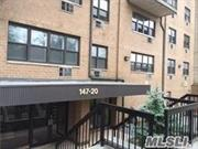 excellent condition, corner unit , window facing south 3 new A/C  garage parking available $150, near transportation, walk to LIRR