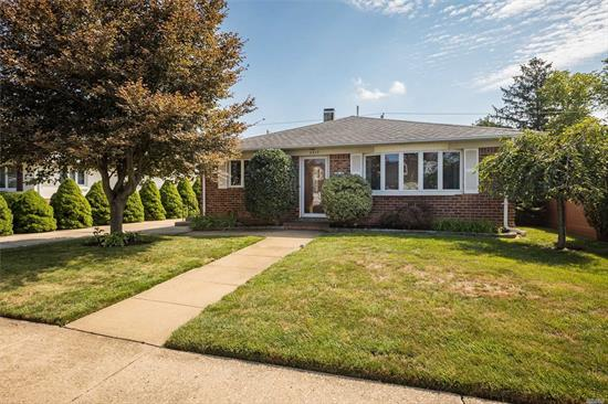 Charming 3 Bedroom, 1.5 Bath Ranch in the Heart of Desirable Seaford. Highlights Include: 200AMP, Central Air, SS Appliances, Financed Solar Panels, Private Fenced in yard with deck. Shed is a gift. Accessible To All (Parkways, Shopping, Restaurants, LIRR). Taxes Just Grieved., Flood Zone X.  Opportunity Knocks But Once... Will You Be Ready?
