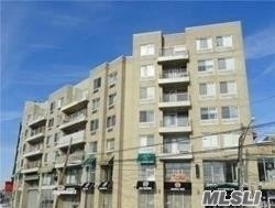 Condo Locate At Center Of The Elmhurst, Corner back Side Unit, 2 Br 2 Full Bath , Balcony, Oak floor, 3 AC, 2 Elevator. Post Office & Daycare On Site Of The Building. 421-A Tax Abatement Until 2034 Year. ***