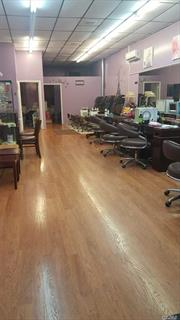 Large open space, very good flow, 6 manicure stations, 4 pedicure stations, 4 nail drying stations, eyebrow and waxing room (1), Separate kitchn area. newly installed ventilator systems, ( 8 total) as required by law. Has been an existing nail salon for 25+ years. All equipment and product are included in sale.
