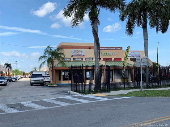 Lowest Price In The Area * Great Exposure From Palmetto Xway * Corner Unit * Fenced Complex * Flex Space * Built-Out As Showroom And Warehouse, With 1 Office Space * Updated Bathroom * Can Be Easily Converted Back To All Warehouse Or Other Use * Unit Is Located Right At The Entrance Of Complex * Good For A Diverse Type Of Businesses (No Bakery Or Chemical Businesses)* Roll-Up Doors And Storefront. As-Is Sale