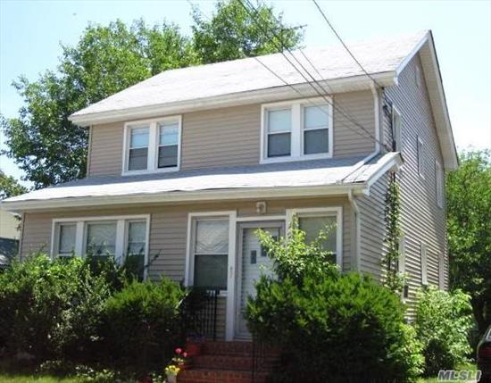 Legal Two-Family Currently Tenant Occupied; One BR over Two BR's; Great Investment Property or Opportunity to Make Your Own; Request 24 hr notice for all showings