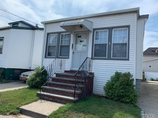 MINT RANCH.IN a perfect neighborhood, fantastic for new homeowners or downsizing !!! totally redone. feature: lv, dining room, kit+eitk, 2 bed, 1 full bath, lots of closet space, full basement w/ outside door. low taxes bring your furniture's and move right in. won't last!