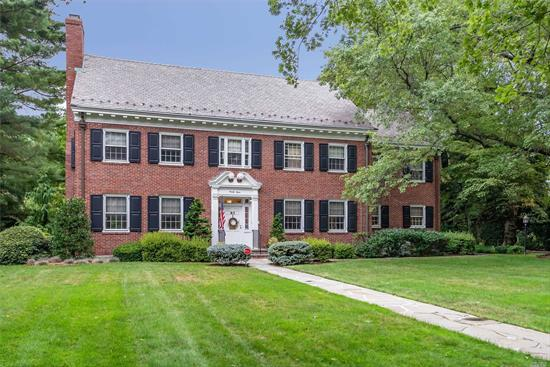 1936 Gem ..first time on market owned continuously by 1 family. New Heat 2 zone, and Hot Water (3 yrs.)Updated Electric, 2 zone CAC, oversized lot 125x250.