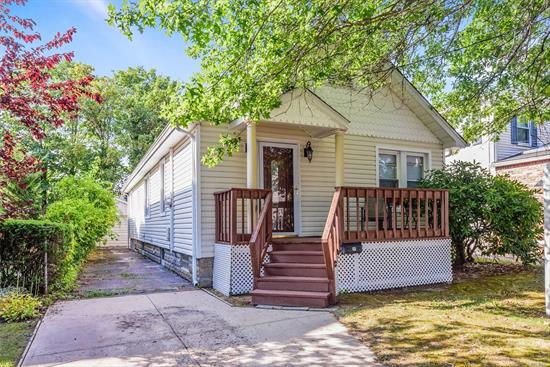 Walk into this beautiful bright and cute ranch with a newer style kitchen and SS appliances. Featuring 2br 1ba, plenty of storage and closet space throughout. Partial basement with endless potential, and a full attic with access from the bedroom.