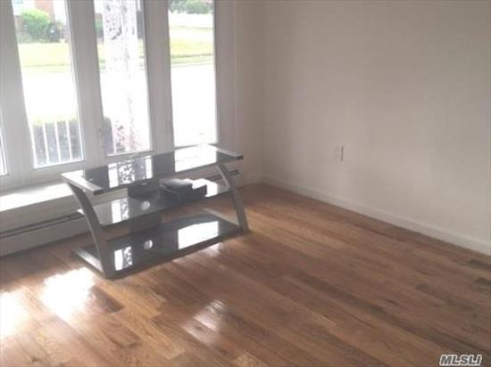 Newly renovated 3 bedroom apartment on the first floor of private house. Wood floors, new windows, fresh paint, top of the line appliances, elegant taste in tiles, cabinets, flooring. Beautiful Kitchen & Bathroom. Clean and bright. Near highways & public transportation, schools, shopping. Price reduction. $2, 500 includes heat and water.