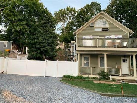 This newly redone 2 bedroom apartment is in incredible condition. There are new hardwood floors, a new kitchen, and a new deck! The apartment is right in the village, close to shops, restaurants, and public transportation.