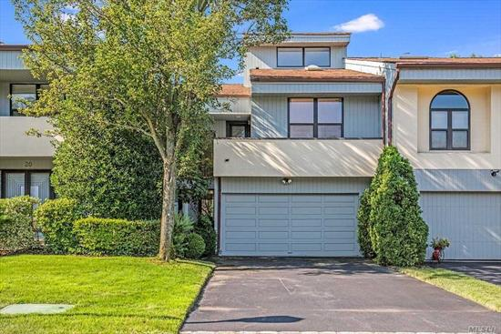 You will love coming home to this prestigious gated community at Eagle Chase in Woodbury! The Augusta Model with 2-bedrooms (possible 3rd) features soaring ceilings, floor to ceiling windows framing beautiful views of the pond bringing the outdoors in. An open floor plan provides a sense of space and living style. Kitchen, den, living room, fireplace loft/den. Amenities include, gym pool, tennis courts and 24 hour secured gatehouse.19.5% Reduction tax grievance. Tax impact letter is attached.