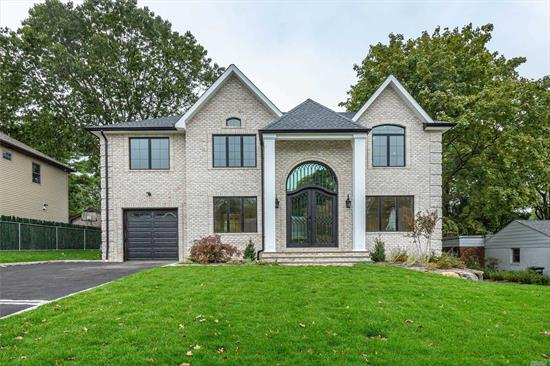 New Construction! All Brick. Perfect Mid-Block location. Large Backyard. 2 Master Bedrooms Upstairs, Fully Finished basement with bedroom, bathroom, laundry & open play room with egress door. Top of the line amenities!