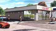 Prime Corner Retail for Lease! Will be delivered vanilla box and can be built to suit! 2, 523 SF on 4, 000 SF lot! OM available upon request.
