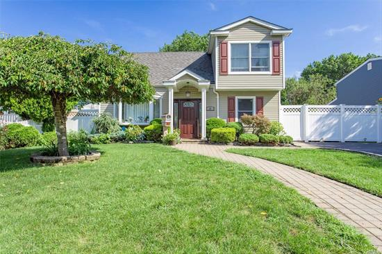 Diamond Condition Colonial On A Quiet Block. New Plumbing, Siding and Front Door. Pella & Andersen Windows, Bruce Hard Wood Floors throughout, 200 Amp. New Brick Walkways. Updated Bathrooms! This is a Must See! Everything Is Mint!