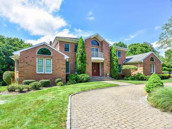 Stunning Brick Colonial With Large Rooms For Entertaining. Three Car Attached Garage.  Close To Highways, Parkways, Shops & Restaurants. Full Current Credit Report & References required. No Smoking In House. Landlord Prefers No Pets.