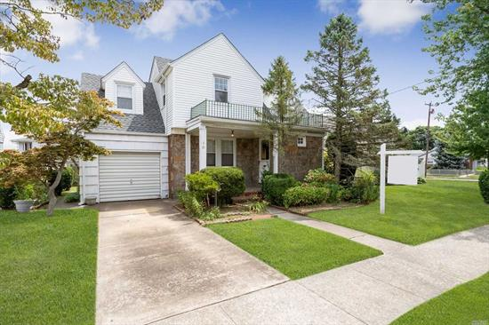 Transform this old world colonial into a home of your own. Spacious home with large back yard and close to RR. Quiet tree lined street and only 35 minutes to NYC. Extremely convenient for commuters. Close to all.