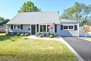 Absolutely Beautifully Renovated-Still Time to Customize This 4 Bedroom-2 Full Bath Expanded Cape Featuring Eat in Kitchen-Living Room-Family Room-Laundry Room with Walk In Pantry-200 Amp Electric-Award Winning Bethpage Schools-Fully Fenced with New PVC-Close to LIRR-Schools and Shopping-BRAND NEW OIL BURNER