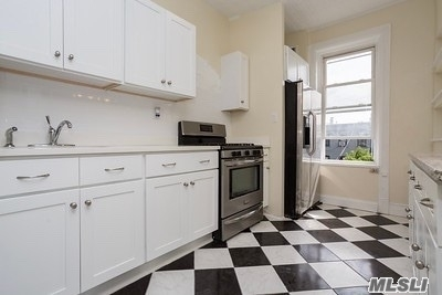 Excellent condition, newly renovated, second floor, 2 bedroom, 2 bathroom with an office space in the heart of Ridgewood! Completely updated, open kitchen/living room layout, eastern/western exposures, pet friendly, short walk to M train (Freshpond), one block to q55 (L train), excellent location, private rooms, will not last!! (No cats)