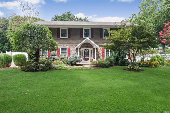 This Is The Colonial You Have Been Waiting For! Move Right In! Granite Kitchen W/SS Appliances (Kitchen Aid) .Private Park-Like Fenced Half Acre. Ductless Ac (3 Units) 200 Amp, Gazebo, Trex Deck, 1/2 Acre. A MUST SEE!!!!