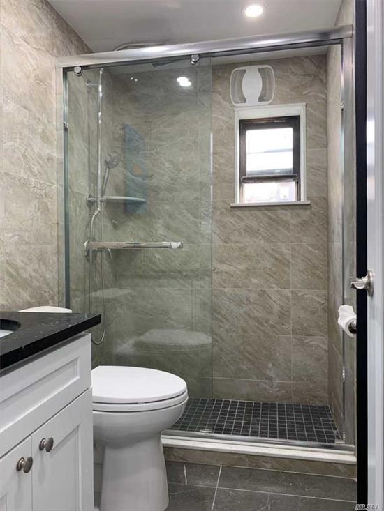 New Renovations, Armstrong 6 Hardwood Flooring, Granite Counter Top & Window Sill, Kohler Shower & Faucets. Original Sponsor Unit, No Board interview Required. Seller Financing Available To Qualified Buyers. 3 Blocks To Broadway Roosevelt E, M, F, R#7 Train Station & Bus Depot. Laundry In Building. Common Charge Include Tax, Heat, Water. Allowed To Be Rented With Board Approval.