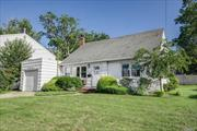 Lovely 4 bdrm, 2 full bth home on large lot with tremendous potential for expansion.