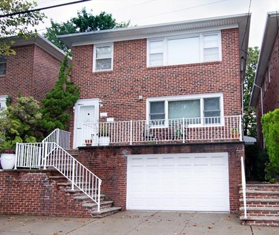 Beautiful 2 family home located in downtown Bayonne on Kennedy Blvd. Central air and heat.