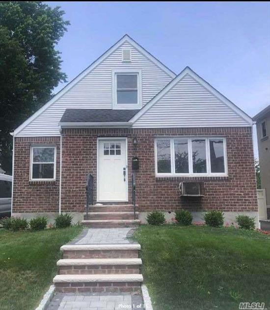 Newly Renovated 4 Bedroom House for Rent. This Home Features a Living Room, Dining Room, Eat-In-Kitchen with Stainless Steel Appliances, Quartz Countertops & Butcher Block Island. Includes Use of Private Driveway and Yard.