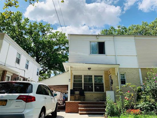 Great Location close to School, Park, Supermarkets and Transportation convenience to all.R3zoning can be convert to two family. Sale May Be Subject To Terms & Conditions Of An Offering Plan. All Information Is Deemed Reliable, Must Be Re-verify By Purchaser(S)