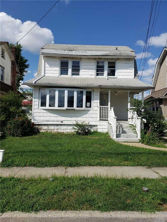 PRICE REDUCED FOR QUICK SALE! Bank Owned 3 bedroom Colonial- Full basement- Detached Garage