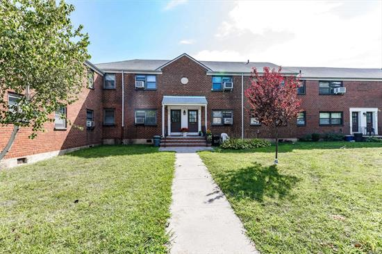 Whitestone 2 bedroom first floor unit in Clearview Gardens. Conveniently located to School, Stores, Restaurants, Bus, and House of Worship. Great potential to update!