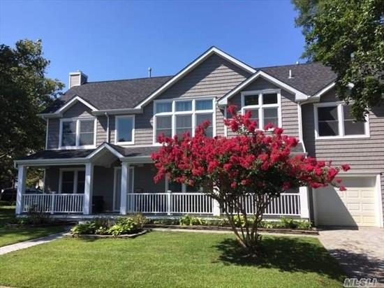 Beautiful 4 bed, 3 bath home on a large lot in the heart of highly desirable Forest Lake section of Wantagh. Hardwood floors throughout and sweeping open floor plan, perfect for family gatherings and entertaining. Vaulted ceilings in dining room and all bedrooms. Huge master bedroom and bath. Theater system with surround sound. Brand new everything!